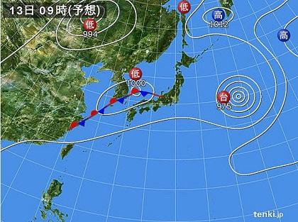 20150810天気図
