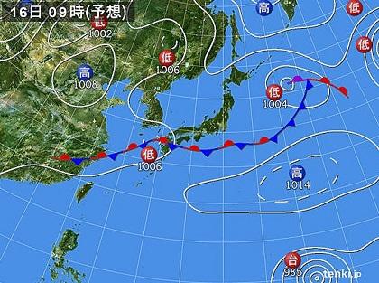 20150814天気図