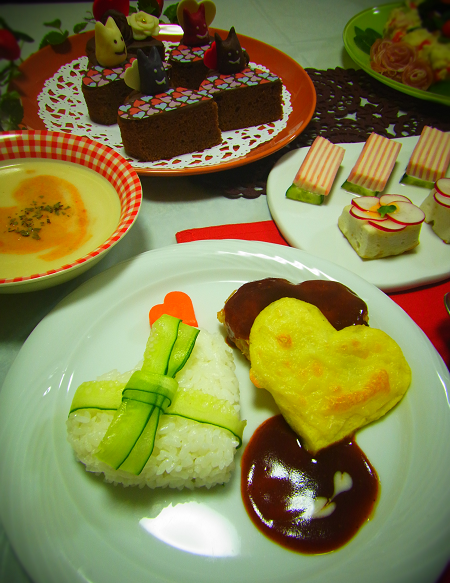 2015.2.14 バレンタインご飯とチョコ 3