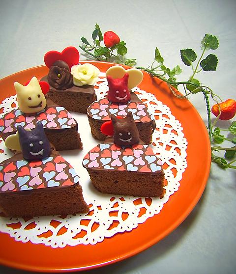 2015.2.14 バレンタインご飯とチョコ 2