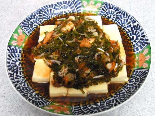 150103-221めかぶキムチ豆腐(S)