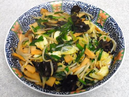150103-231野菜とメンマの炒め(S)