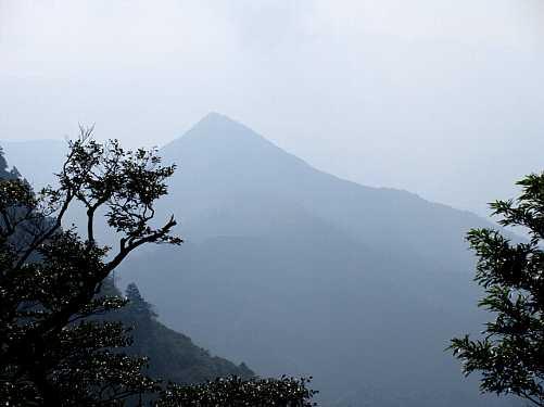 #MG_0393今から登る刈又山が霞んで見えます