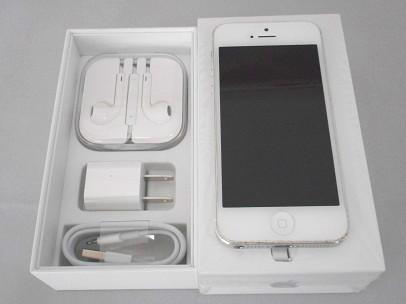 iphone5ホワイト