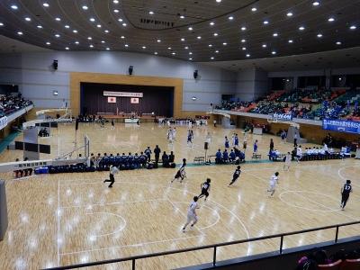 高校バスケ東北新人戦 一関 033
