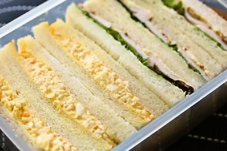 卵サンドイッチ2