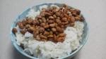 カンロ「プチポリ納豆 しょうゆ味」を温かいご飯と共に・・・