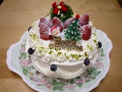 クリスマスケーキ2014-2