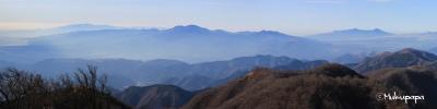 IMGパノラマ2_2_20141224塔ノ岳山頂