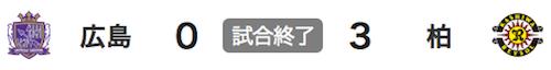 816広島0-3柏