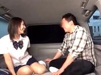 パンツ売りの女子校生が変態親父にワンランク上のサービスで値段を釣り上げる