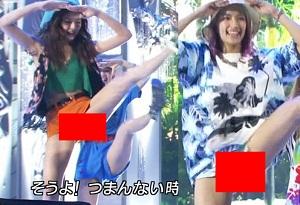 【朗報】E-girls がダンスでマ○コ丸出ししてるんだがwwwwww