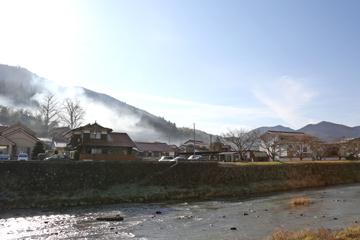 津和野の早朝のけしき
