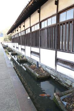 津和野でよくみる景色