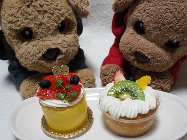 シフォンケーキとサバラン