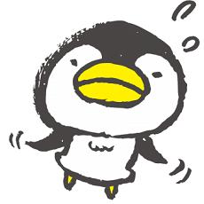 焦るペンギン