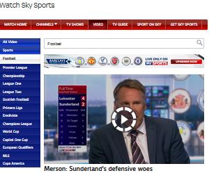 Merson Sunderlands defensive woes