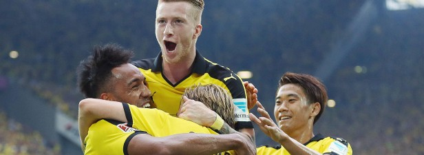 Dortmund zerlegt Gladbach im Borussia-Duell mit 40