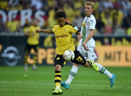 kagawa 4_0 Borussia Dortmund - Borussia Mönchengladbach