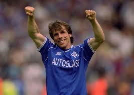 Chelsea legend Gianfranco Zola