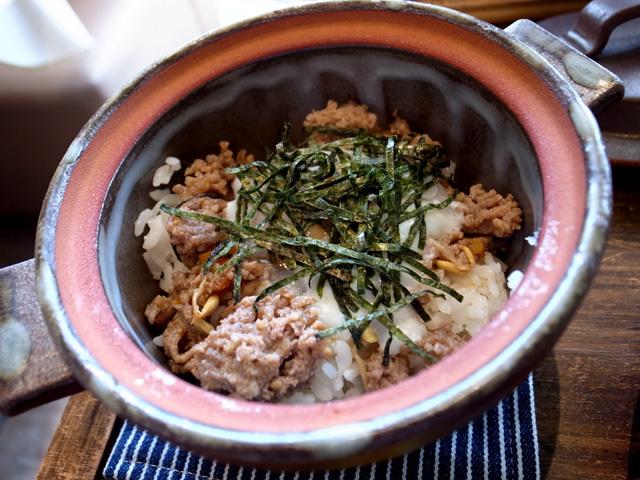 ビビンパ風丼