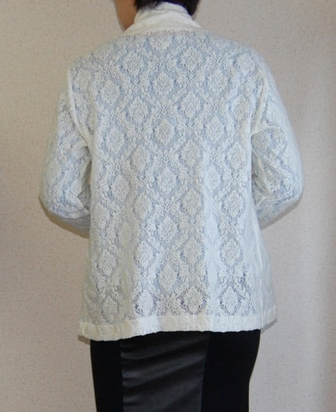 Lace Knit Cardigan2