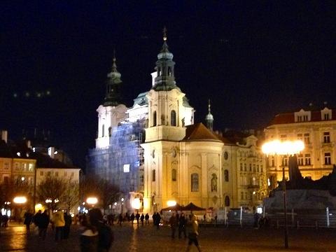 旧市街地の夜景