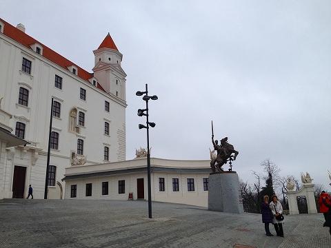ブラチスラバ城1