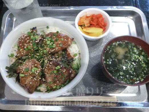 どらごん亭ランチメニュー焼き鳥丼097