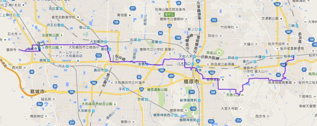 奈良13仏01-0奈良13仏軌跡