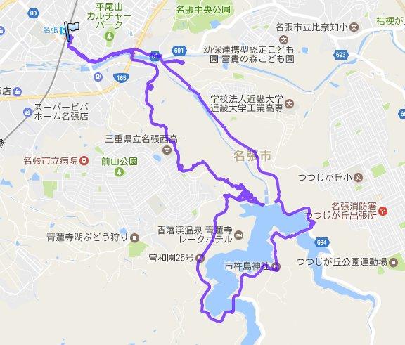 1704-00a-青蓮寺湖軌跡