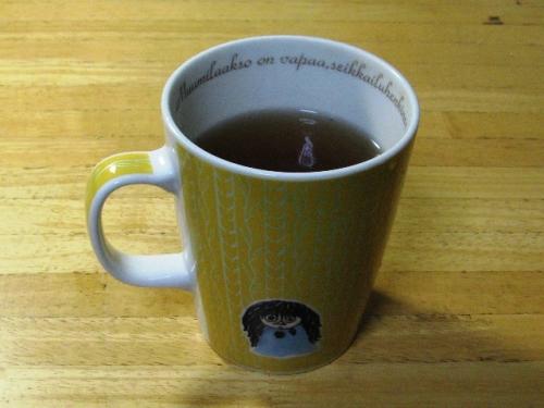 マグカップ(500ml)で3分間
