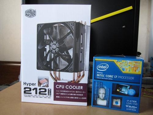 Core i7-4790K換装 2
