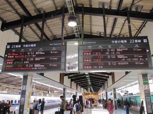 北陸本線経由の一筆書き片道切符の旅 東京駅