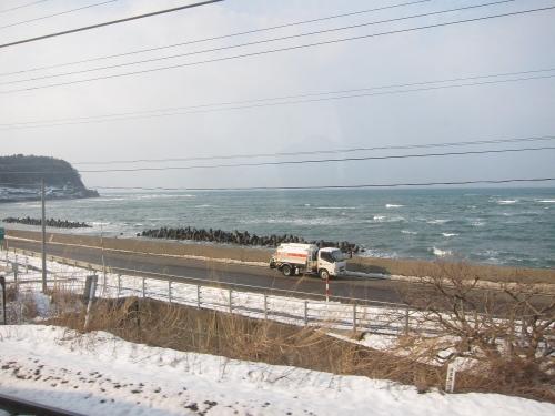 北陸本線経由の一筆書き片道切符の旅 日本海