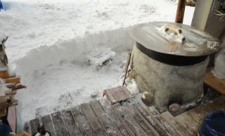 201501 暴風雪一過---除雪後
