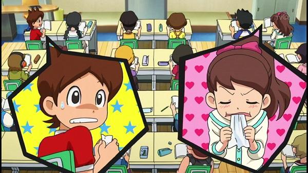 ゲームアニメ 妖怪ウォッチ 82話 感想 やきもち フミちゃん