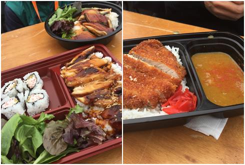 お弁当&うな丼&カツカレー
