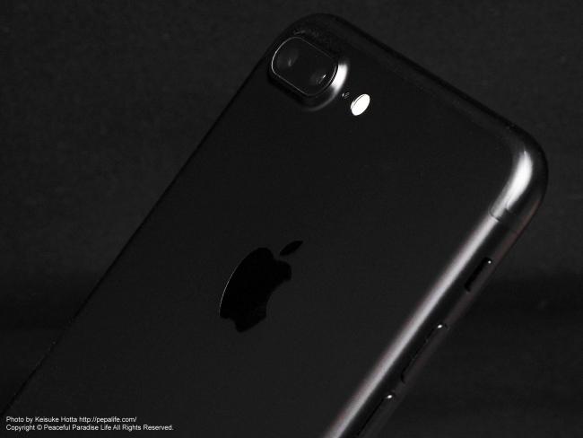 Apple iPhone 7 Plusのディアルレンズカメラ