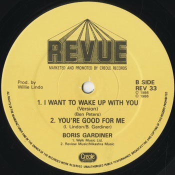 OT_BORIS GARDINER_I WANT TO WAKE UP WITH YOU  YOURE GOOD FOR ME_201804