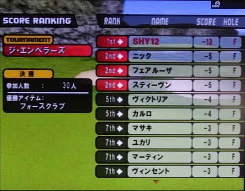 PS2エンジョイゴルフ シニアプロ以降 (22)