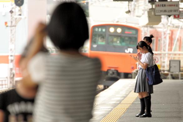 2015/8/11 JR大阪環状線 玉造
