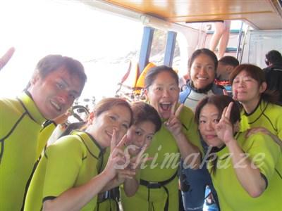 ラチャヤイ島体験ダイビングツアー