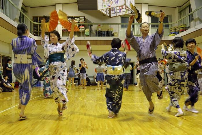十津川小原 大踊り1