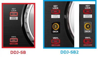 DDJsb比較