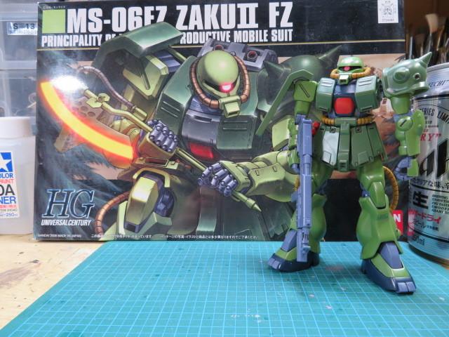 MS-06FZ ZAKUⅡ FZ の1