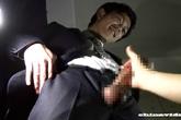 ゲイ動画:[男のプリケツ] カッコ可愛いノンケスーツリーマン君にフェラ奉仕 !!
