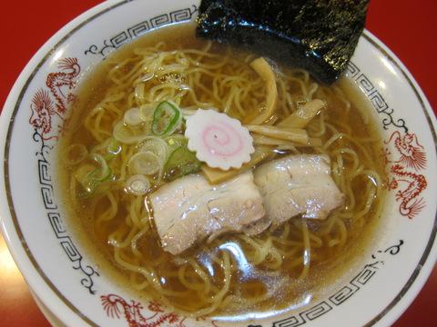 ホームラン食堂(煮干鰮そば)