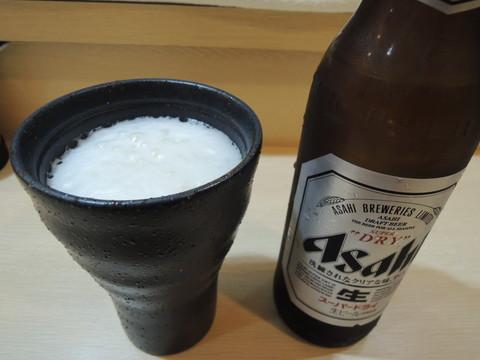ビール小瓶(350円)