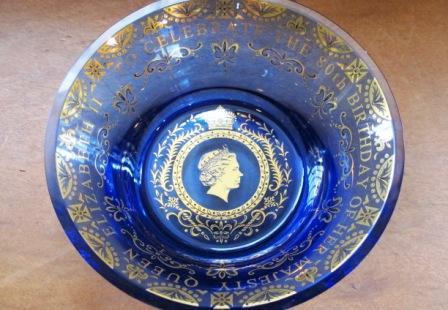 81280歳ガラス皿